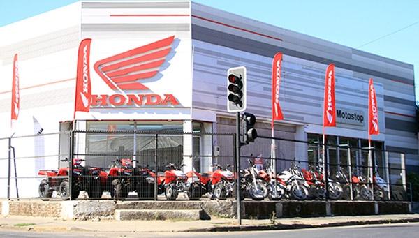 Local comercial Honda - Motostop